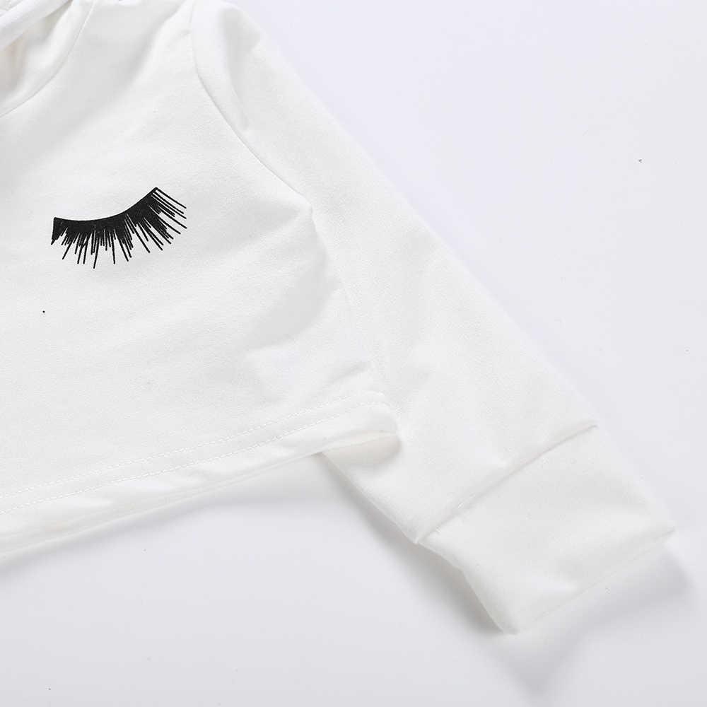29c29a913 ... Blink T Shirt for Girls Tops for Girls Kids T Shirt Children White Long  Sleeve Hooded