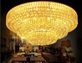 Free shipping Crystal lamp traditional gold living room lamp modern bedroom lamps LED ceiling Lamp D400MM/D600MM/D800MM