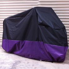POSSBAY Motorcycle Covers UV Rain Protector Dustproof Waterproof Outdoor Covering for Honda Harley Suzuki Ducati Scooter Cover