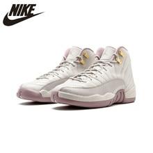 info for 5b0eb 0dfc1 Original auténtico NIKE Air Jordan 12 Retro PREM HC GG mujeres zapatos de  baloncesto zapatillas de