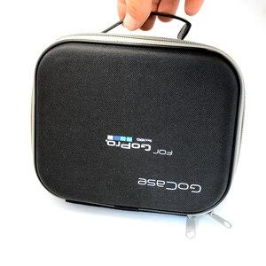 Image 3 - Lbkafa eva portátil bolsa de viagem armazenamento caso saco protetor para gopro hero 9 8 7 6 5 4 sjcam sj4000 sj6 yi câmera acessórios