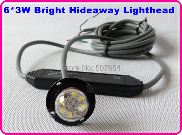 Higher star 6*3W Led Hideaway Lights,Sidelight,Grill emergency - Car Lights