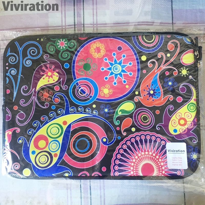 """Image 5 - 2015 17"""" 15"""" 15.6"""" 13.3"""" 13"""" 12"""" 11.6"""" 10"""" 9.7"""" 7"""" 14"""" Neoprene Laptop Tablet Netbook Sleeve Bag Cover Funda Bolsas Cases Pouch-in Laptop Bags & Cases from Computer & Office"""
