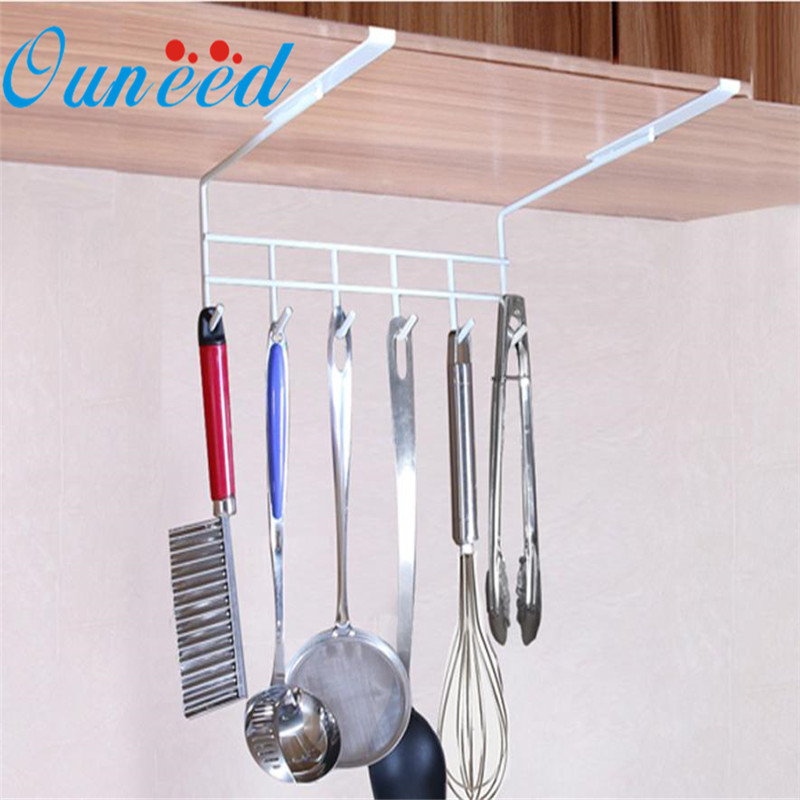 1pc Storage rack aeProduct.  sc 1 st  AliExpress.com & Kitchen Tool Storage Rack Hanging Hook New Iron Cabinet Cupboard ...