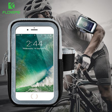 FLOVEME Waterproof Arm Band Case For iPhone 6 6s 7 Plus 5 5S SE Case Universal Phone 360 Full Protection Running Sport Bag