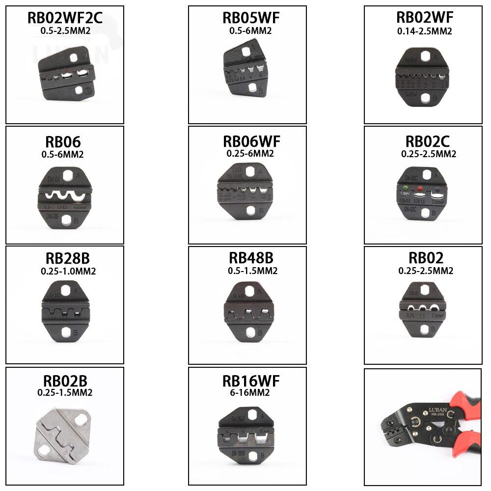 Der GüNstigste Preis Luban Mini Europ Stil Crimpen Werkzeug Crimpen Zange Sterben Sets Für Rb Serie Rb02c Rb02wf2c Rb16wf Rb06wf Rb03h Rb02 Backen Neueste Technik Werkzeuge