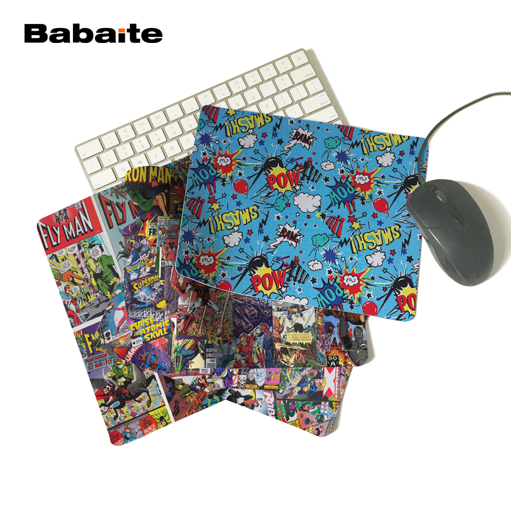 Babaite Fictional Character feature Characters Anti-Slip Mouse Pad 180x220x2mm 250x290x2mm mat Cool Design
