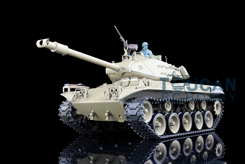 2.4Ghz HengLong 1/16 USA Walker Bulldog RTR RC Tank Model Plastic Ver Sound 3839