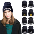 Fashion !! 2017 New Winter Knitted Women Hat For Girls/Boys Skullies Beanies Hats For Children Men Cap Women Beanie Unisex