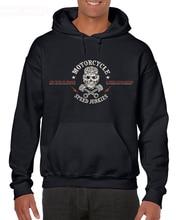 Funny Clothing Casual Hoodies MOTORCYCLE SPEED JUNKIES Biker Chopper Motard MC Sweatshirt