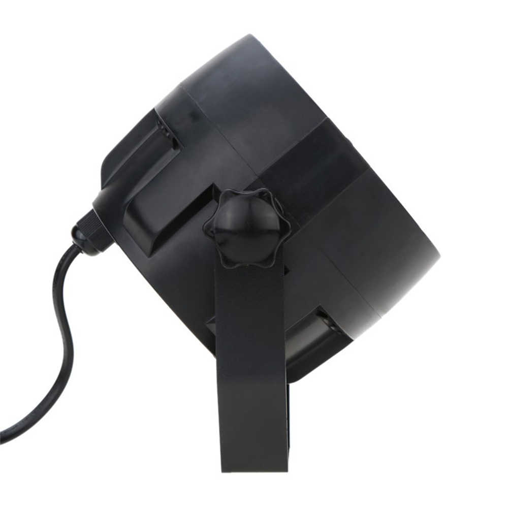 Сценический светодиодный светильник RGBW PAR, светодиодный s 12 W, звуковая активация, Авто DMX512, диско-свет с пультом дистанционного управления для DJ Вечерние