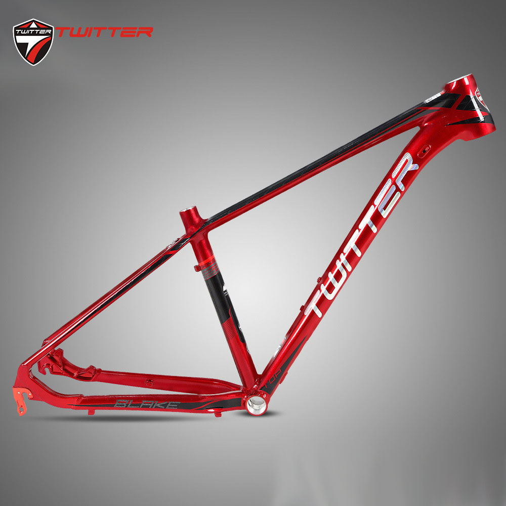 Twitter Blake AL7005 MTB Frame 27.5 29er XC Lever For Mountain Bicycle Smooth Welds Reflective Decals Internal Cable New Coming