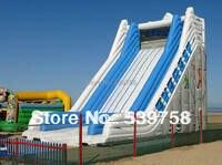 Factory direct large inflatable slide / castle / water slide / pool slide / adult children commercial slide for sale
