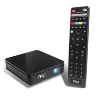 Mini TVIP 410 412 Box Amlogic Quad Core 4GB Android 4 4 Linux Dual OS Smart