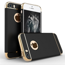 GKK 3in1 Splicin Phone Hoesje Back Cover Case for iphone 5 5s SE Hard HyBrid PC Full Protection Capa Para for iphon5 Cover Cases
