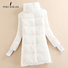 winter jacket women 2016 cotton-padded jacket women's medium-long wadded jacket slim outerwear winter coat women parkas