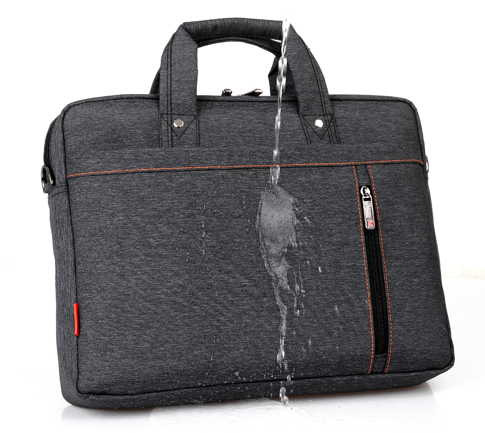 Burnur 12 13 14 15 15.6 17 17.3 Inch Waterproof Computer Laptop Notebook Tablet Bag Bags Case Messenger Shoulder for Men Women