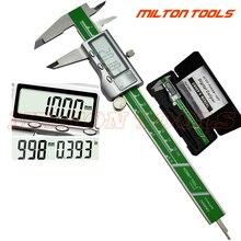 Промышленный Металлический Чехол, цифровой штангенциркуль из нержавеющей стали 0-50 мм 0-150 мм 200 мм 300 мм Электронный штангенциркуль, микрометр