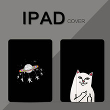 Luxury Pu Leather Cartoon cat stander cover case for Apple ipad 2 3 4 case 9.7 inch auto sleep & wake up case for ipad luxury lattice cover case for ipad 2 3 4 pu leather protective case for ipad 2 ipad 3 ipad 4 9 7 inch auto wake cover