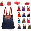 Famoso saco de mulheres marca mochila escolar mulheres de nylon impermeável mochilas para adolescente meninas dobráveis sac a principal bolsas de ombro