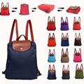 Famous brand women bag school backpack women waterproof nylon backpacks for teenage girls folding sac a main shoulder bags