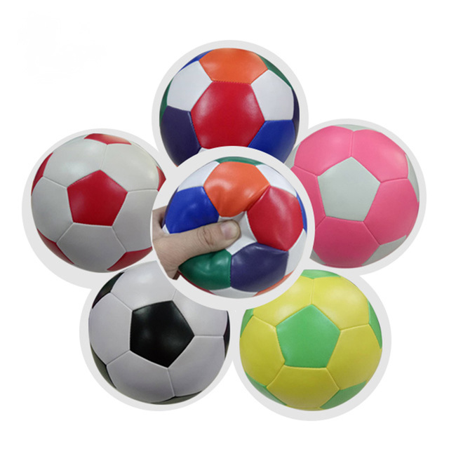 2018 New Produce Colorful Stuffed Toy Balls Children Soccer Balls