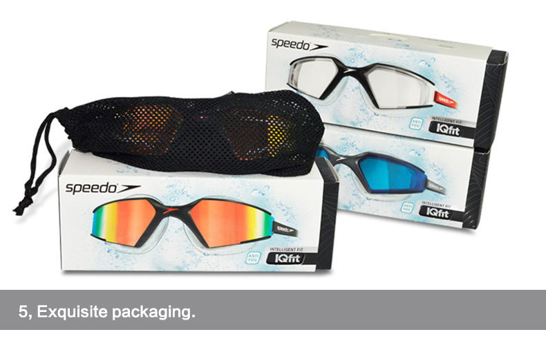 Speedo MultiColored Aquapulse Max Mirror 2 IQfit Goggle Anti Fog HD Lens UV  Protection For Adult Men s Women s-in Swimming Eyewear from Sports ... db55342b06