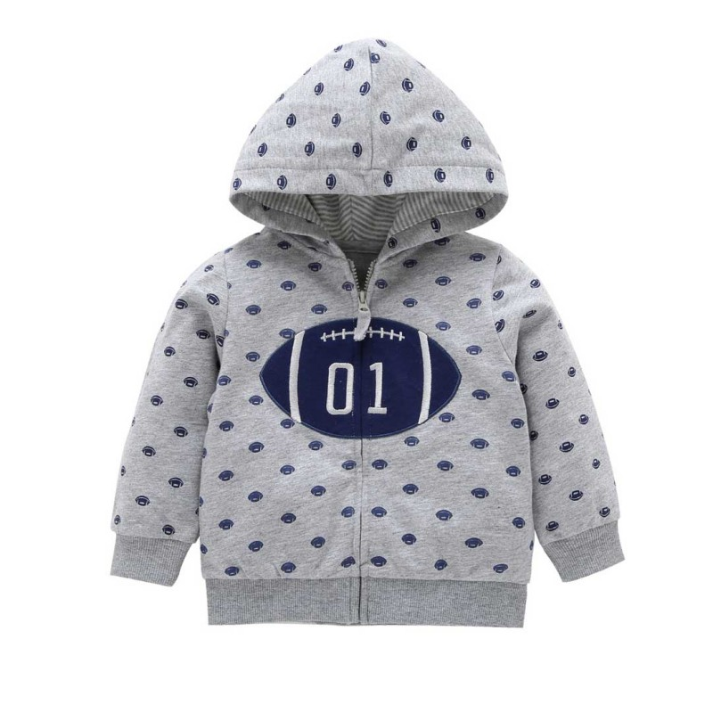Free Shipping Kids Jacket Baby Boys Girls Outerwear Coats Long Sleeve Infant Toddler Outerwear Jacket Hoodied Tops