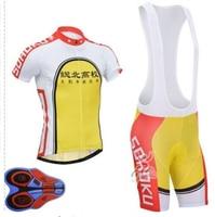 Yowamushi Pedal Sohoku Ciclismo Jersey de Manga Corta Ciclismo ropa de Hombre Verano Ropa Ciclismo de Montana Racing Sportwear