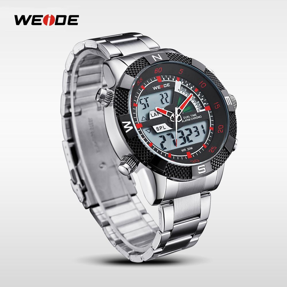 WEIDE Famous Brand Sport Complete Kalender Herenhorloges 3ATM - Herenhorloges - Foto 5