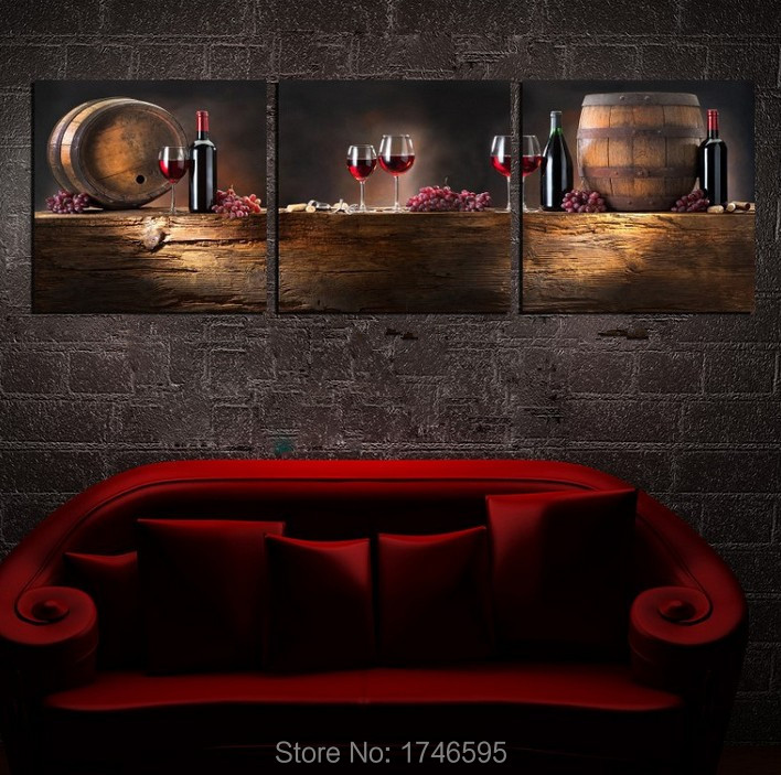 online get cheap wine pictures for kitchen -aliexpress