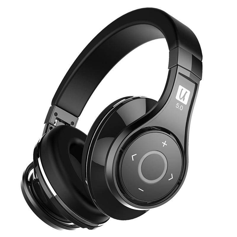 2018 Bluedio Nya UFO2 handsfree Bluetooth-hörlurar utan - Bärbar ljud och video