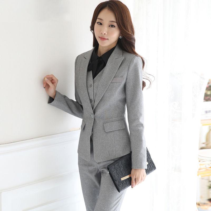 Wedding Suits For Women.Us 103 49 10 Off Custom Made Women Wedding Suits Uniform Designs Formal Office Suits For Ladies Slim Female Trouser Suits 3 Pcs Jacket Pants Vest In