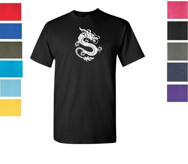 中国のドラゴン Tシャツシャツ中国神話 Tシャツサイズ S-5XL