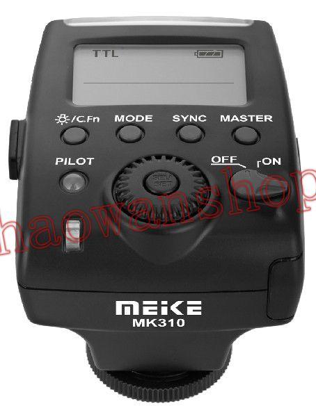 Meike MK-310 E-TTL TTL Flash Speedlite lumière 1/8000 s sync pour Canon 60d 80d 70d 5d3 6D 7d 600D 700D 650D 750d 1200d caméra
