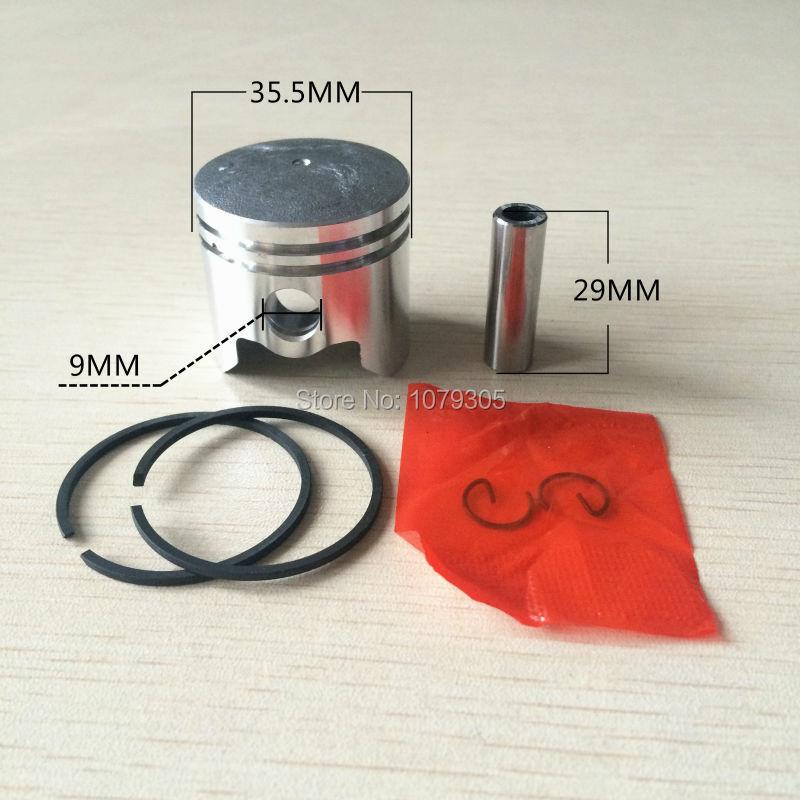33CC 36 Комплект бутала за режещи четки с - Градински инструменти - Снимка 2
