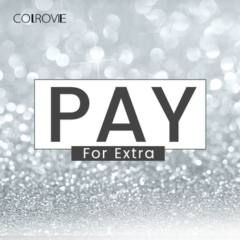 COLROVIE Pay for Extra (pay for shipping or extra fee ) Please Do Not Pay If Not Negotiated
