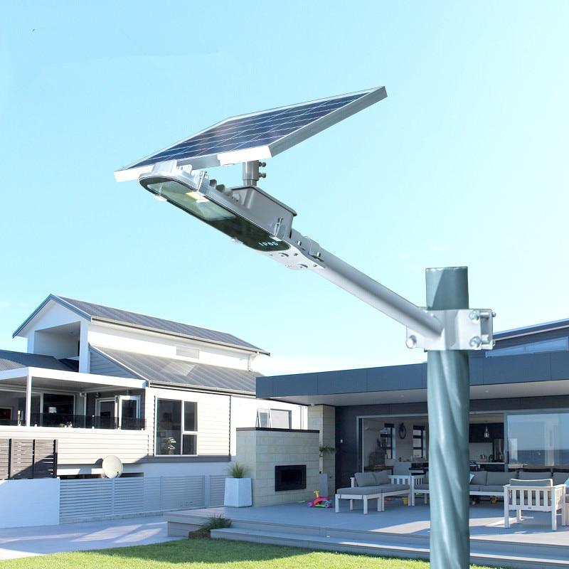 8W Luz Solar Lamp Outdoor Led Light 12W Solar Panel Waterproof LED Street Lights Road Lamp Security Lightting For Garden Wall - 2