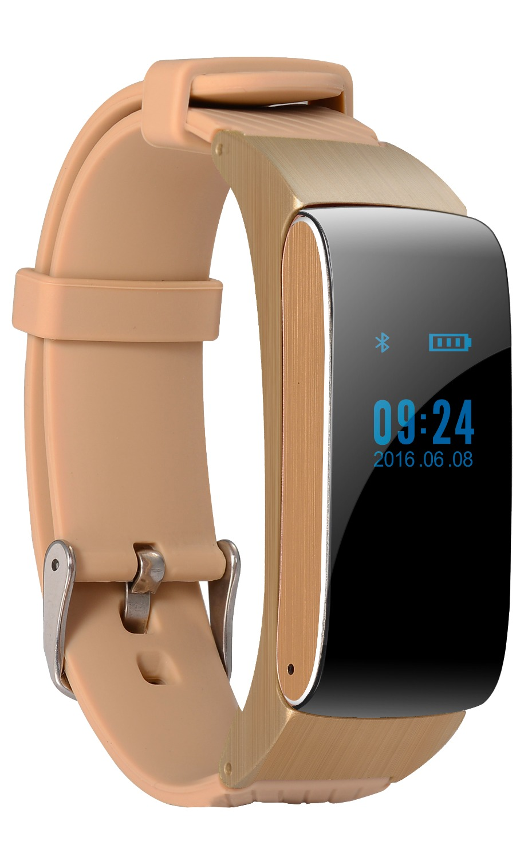 DF22 Sport Smart Band Fitness Tracker Talk Smart Bracelet Bluetooth Headset Headphone Earphone Pedometer Sleep Tracker PK Fibit