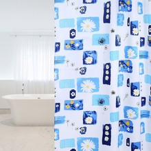 hot deal buy hot sale bath supplies waterproof shower curtains polyester curtains for bathroom mildew free with 1