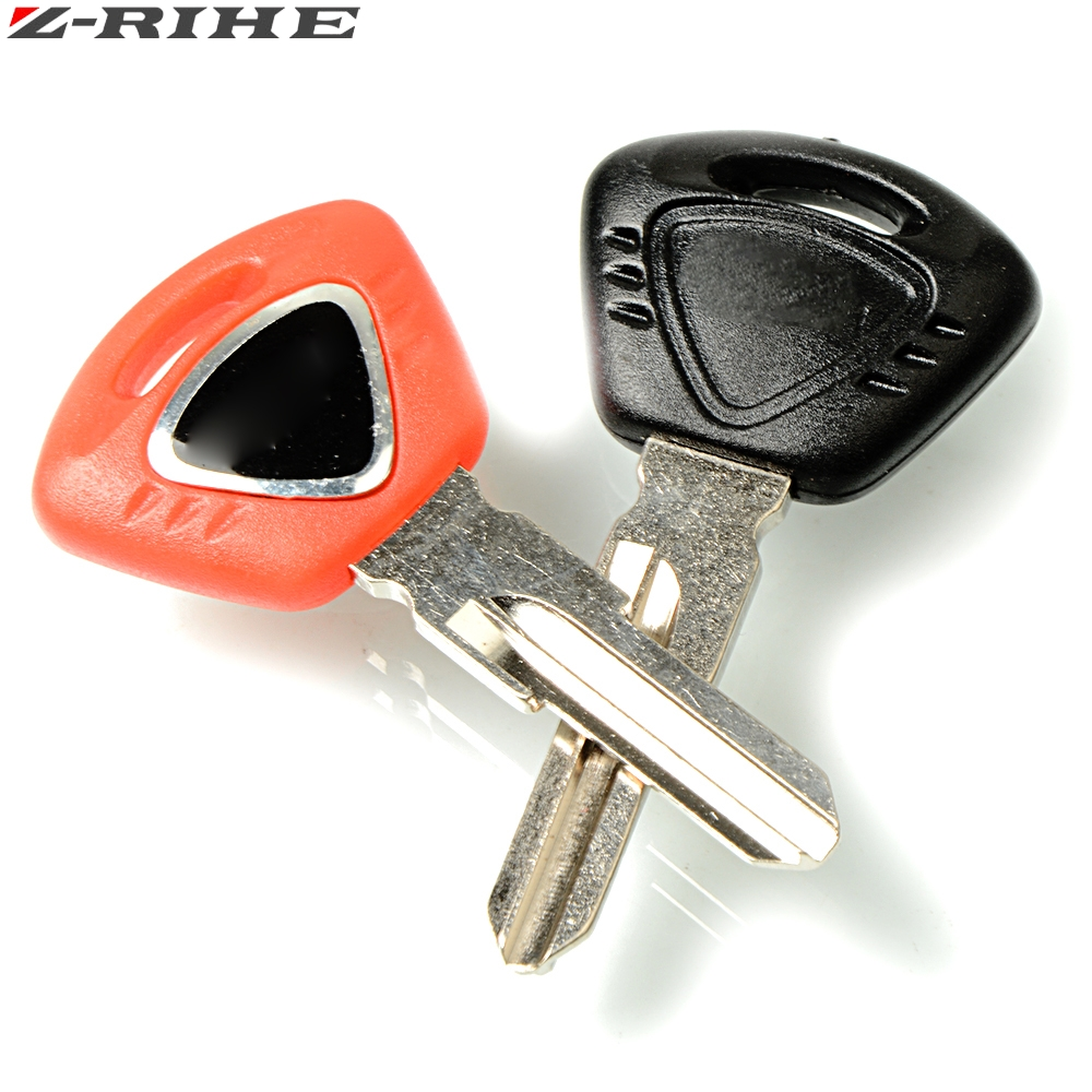 Motorcycle Left&Right Slot Embryo Blank Key Uncut Blade For TRIUMPH Street Triple 600 675 1050 T100 T120 T800 T900 T955 Tiger800