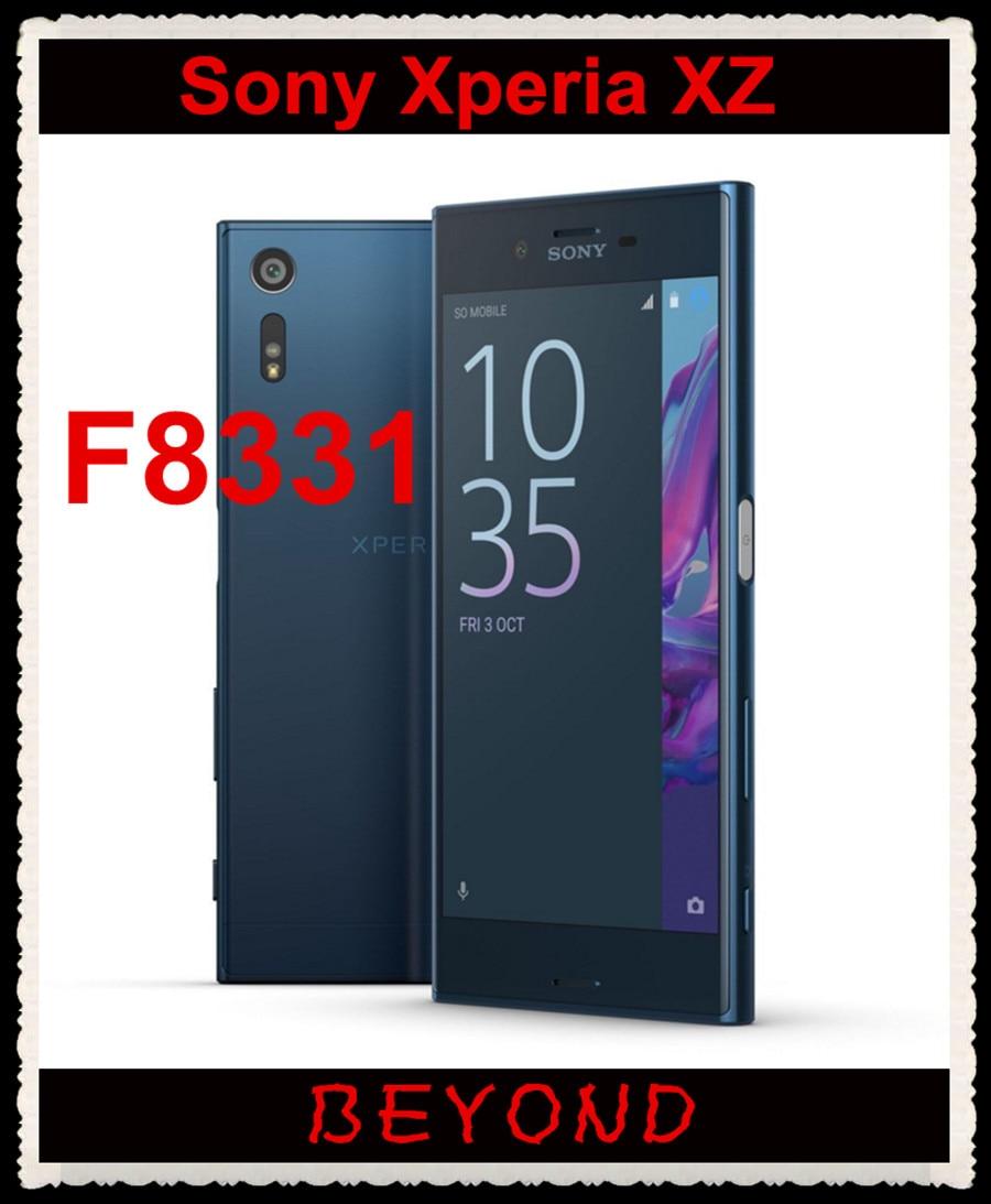 Sony Xperia XZ F8331 Original Unlocked GSM 4G LTE Android Quad Core RAM 3GB ROM 32GB 5.2