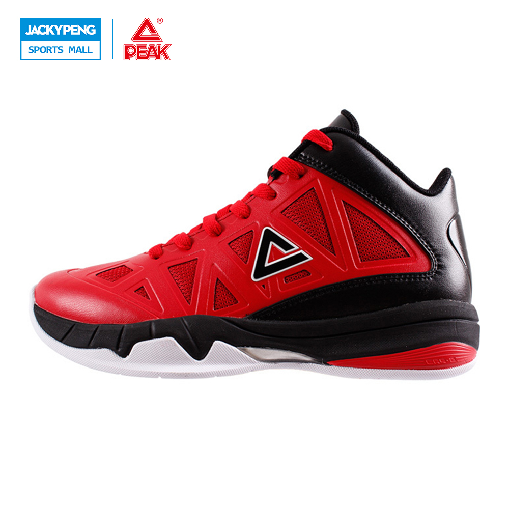 PEAK SPORT VICTOR Men Bas Basketball Shoes FOOTHOLD REVOLVE Tech Breathable Athletic Sneakers Training Boots Size EUR 40-47 peak sport star series george hill gh3 men basketball shoes athletic cushion 3 non marking tech sneakers eur 40 50