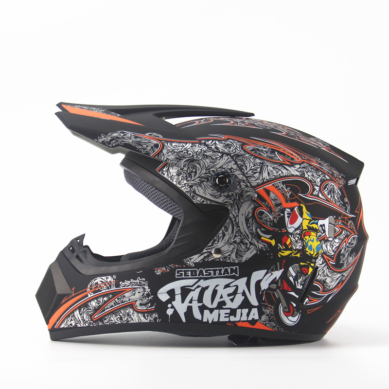Motocicleta ATV capacete casco capacete de moto capacete de qualidade superior dos homens DH MTB motocross off road motocross Corrida capacete DOT