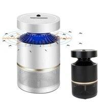 Mayitr LED Elektryczne Komara Lampy Nowoczesne Sterowanie Elektryczne Odstraszacz Zapper Pest Bug Owad Mucha Zabójca Wyciszony 220 V