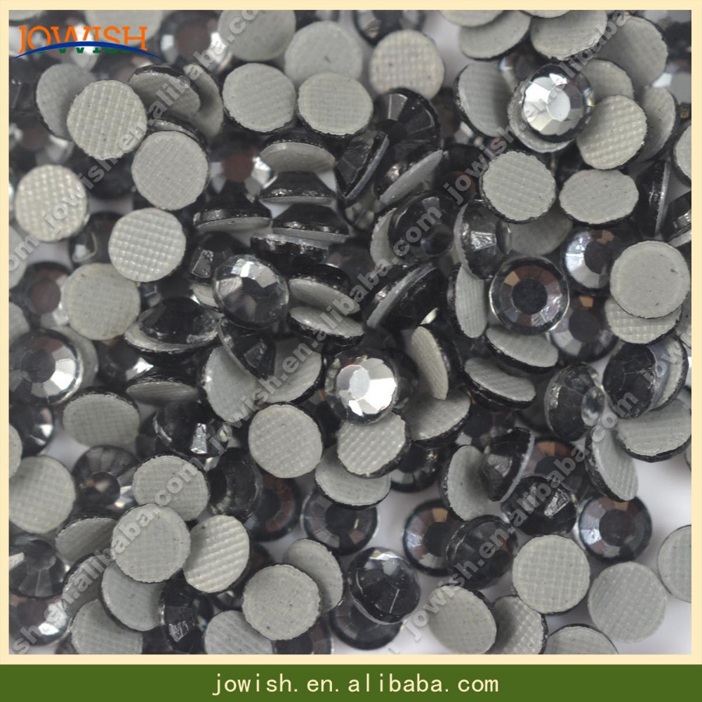 SS16 Black Diamond Crystals Flatback Rhinestone 200gross Hotfix Crystal  Stones Strass Beads for Clothes Crafts-in Rhinestones from Home   Garden on  ... 103201634c71