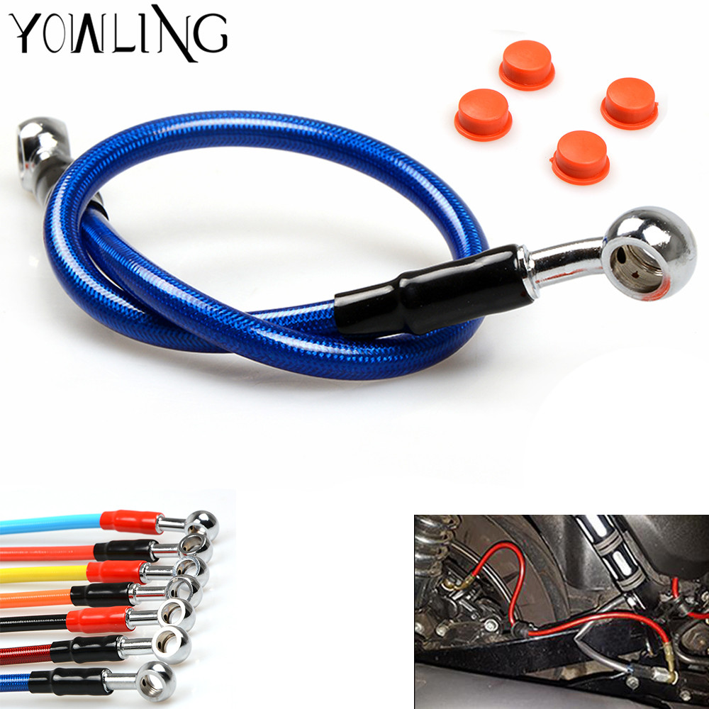 Motorcycle Brake Pipe Brake Hose Line For Honda CR 80 85 125 250 500 <font><b>CRF</b></font> 125F 150F 230F 150R 250R 450R <font><b>450X</b></font> XR250R 400R 650R image