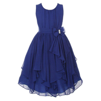 3 12T Girls Dresses 8 9 10 11 12 Years 2017 Baby Toddlers Kids Girl Solid
