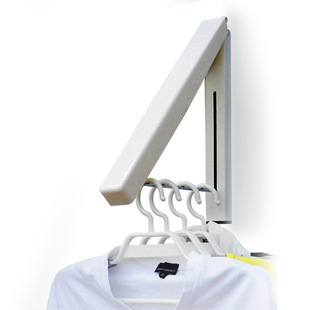 Stainless <font><b>Steel</b></font> Wall Hanger Retractable Indoor Clothes Hanger Magic Foldable Drying Rack Waterproof Clothes <font><b>Towel</b></font> Rack