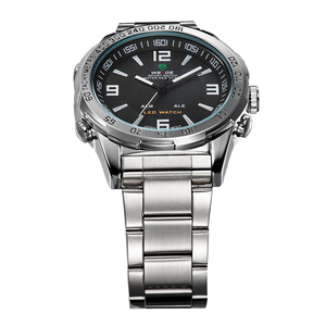 Image 4 - New Watches Men Luxury Brand Weide Full Steel Quartz Clock Led Digital Military  Watch Sport Wristwatch Relogio Masculino